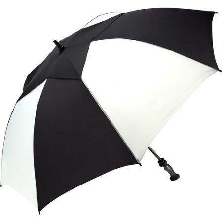 2371f4903ad8 ShedRain 3-Finger Sport Handle 60 inch Vented Golf Umbrella, White ...