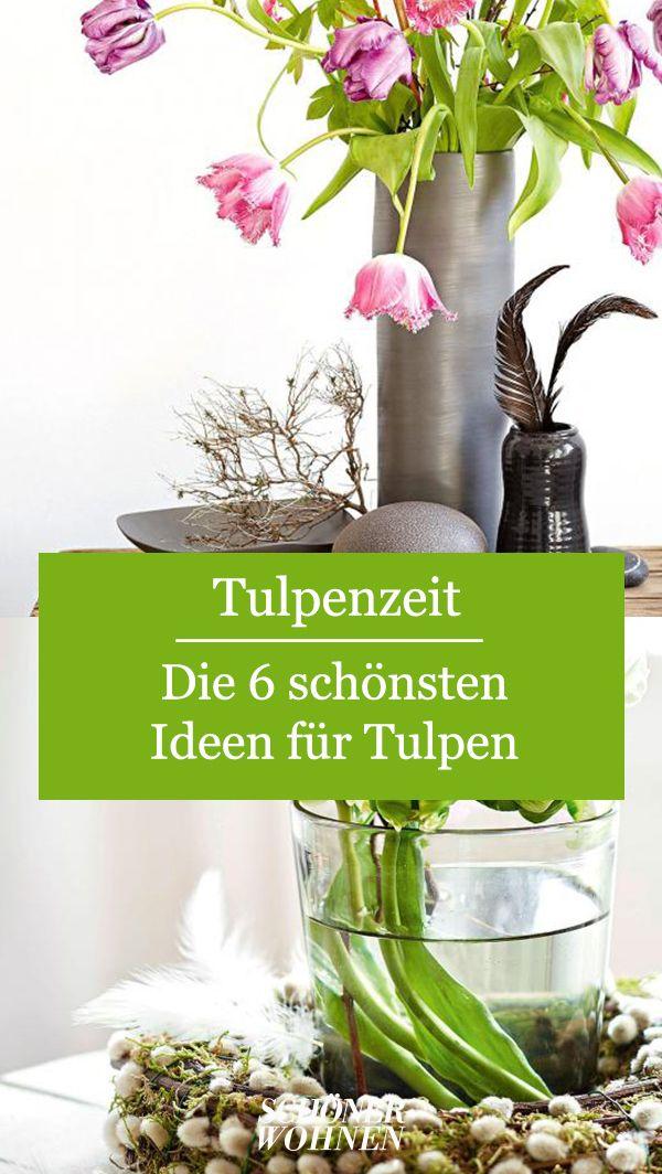 In Guten Kreisen Tulpen Und Fruhlingskranz Bild 4 Tulpen Dekorieren Und Fruhlingsdekoration