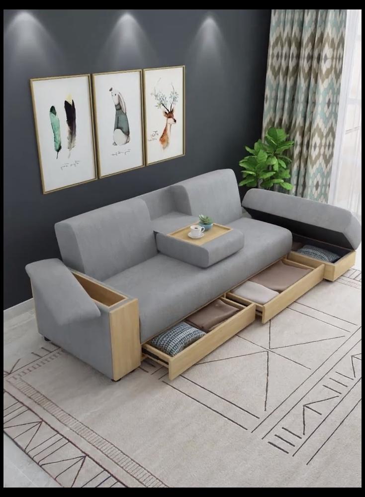 l shape sofa with storage