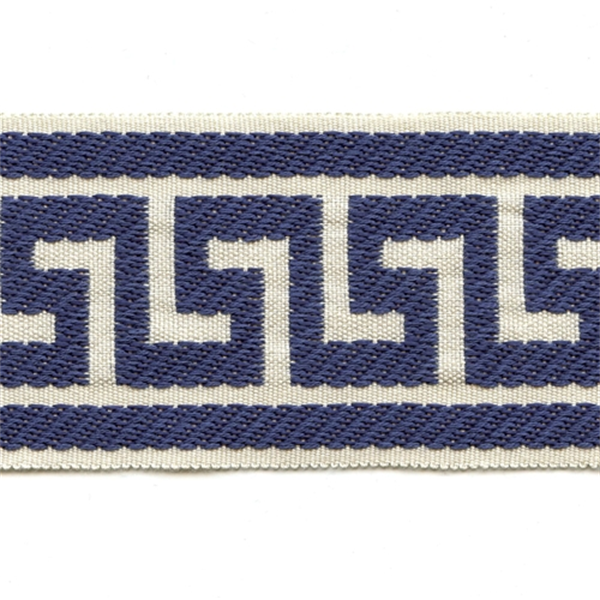 Greek Key Navy Tape Trim Sw31820 Fabric By The Yard At Prices 5 95 Per