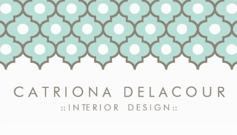 Elegant mint green moroccan quatrefoil pattern interior design elegant mint green moroccan quatrefoil pattern interior design business cards http reheart Gallery