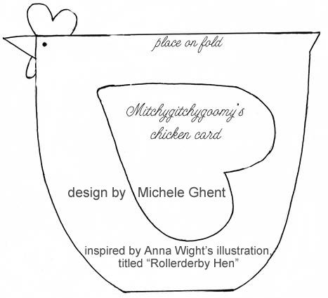 Here A ChickThere A ChickAnd A Pattern   Template Loves