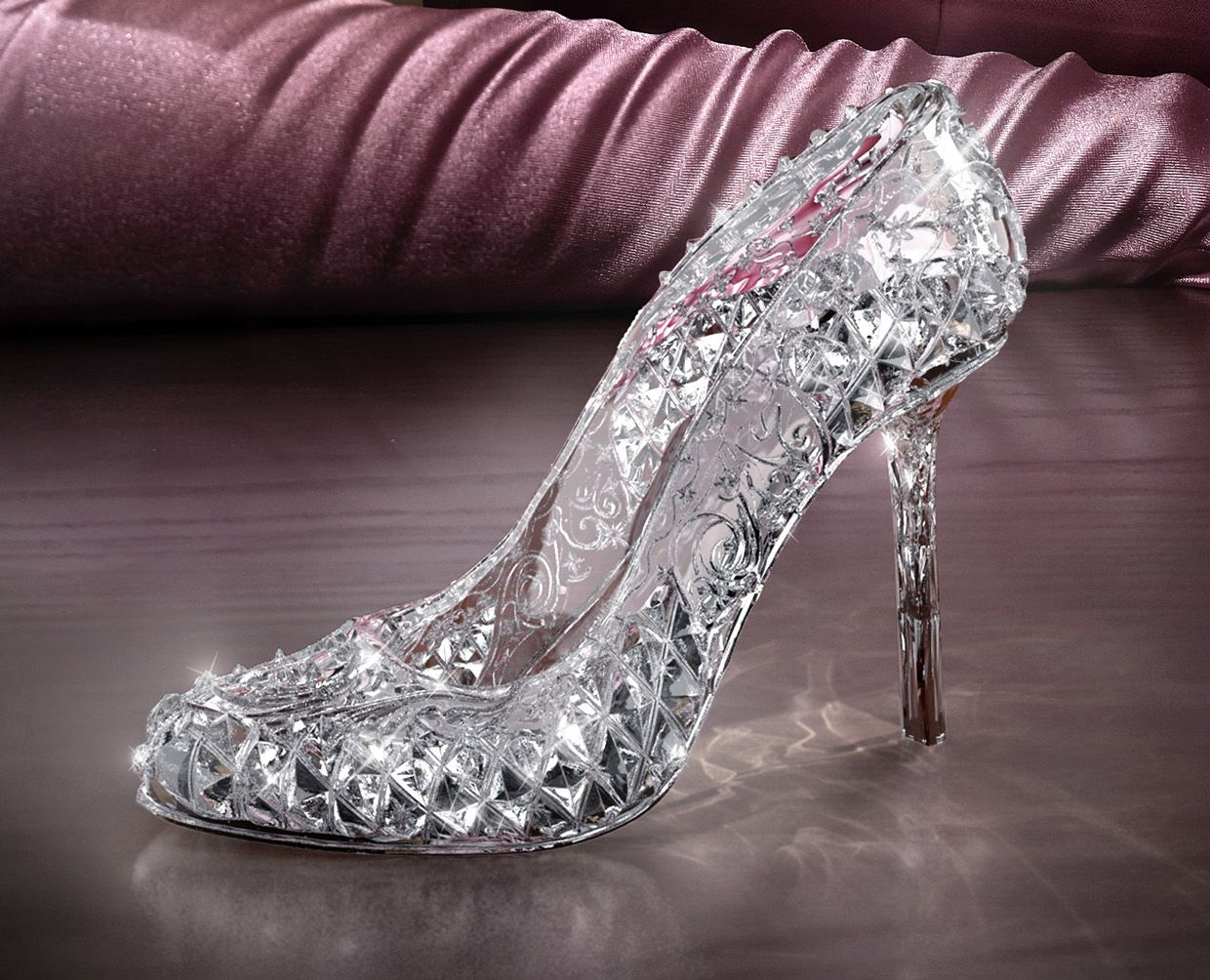 Sunset Desires | Glass slipper, Glass and Wedding shoes