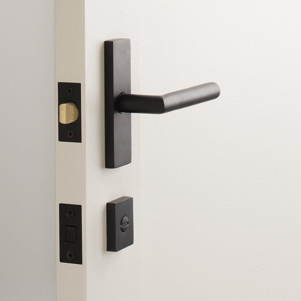 Rome Small Door Set With Otto Lever Flat Black Small Doors Door Sets Doors