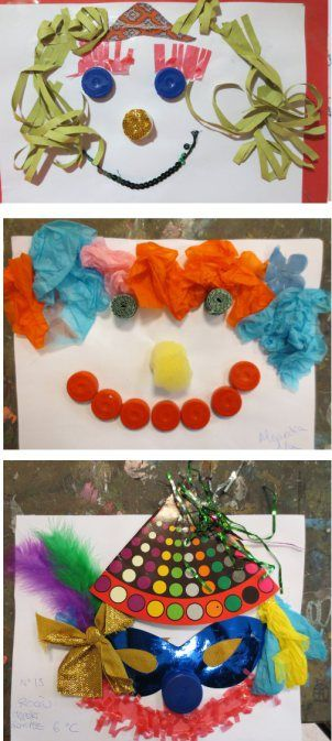 Retratos Con Materiales Reciclables 6º De Ep Colegio Alameda De Osuna Texturas Materiales Reciclados Texturas Tactiles