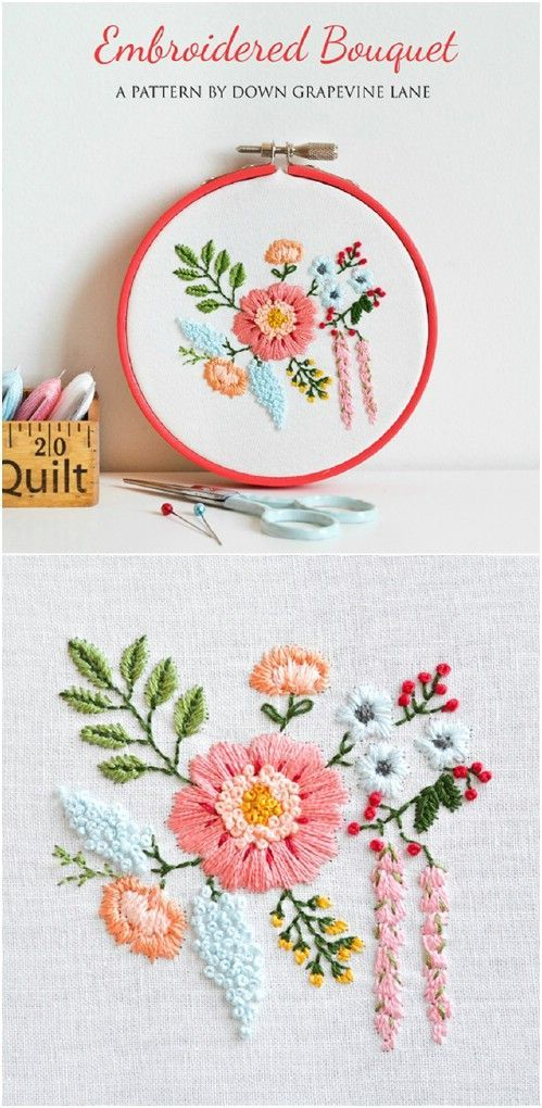 25 Easy Embroidery Projects For Beginners With Free