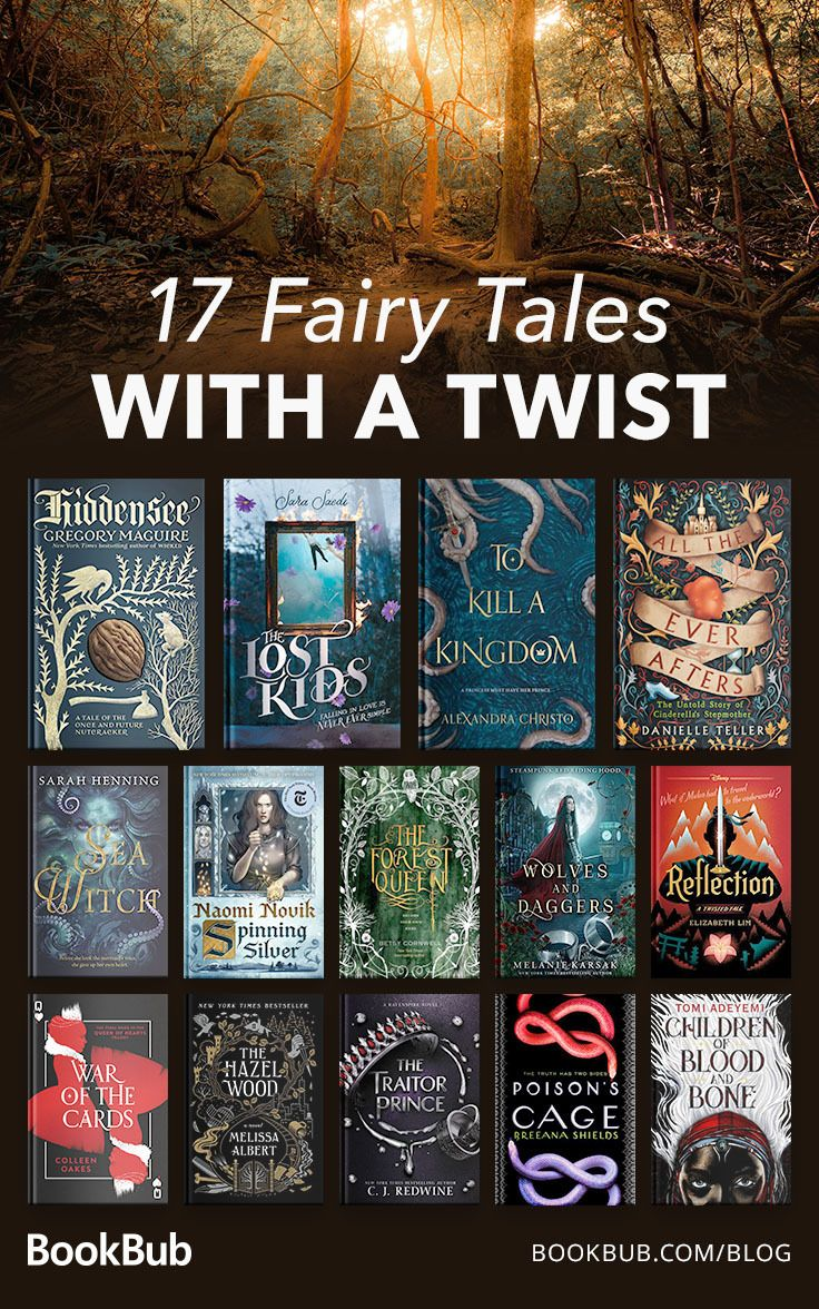 17 Fairy Tale Retellings for Adult Readers #bookstoread