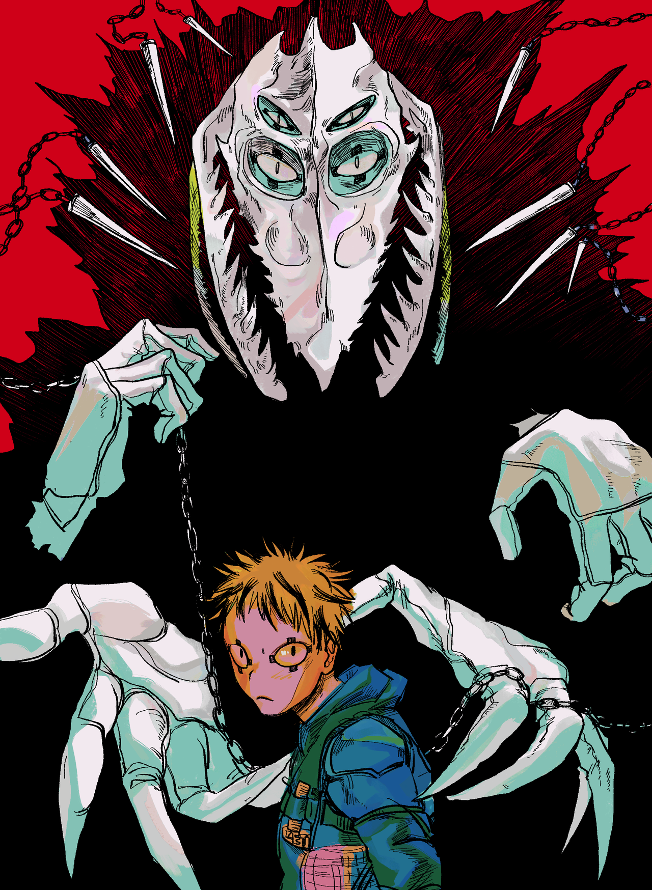 "domuhedomu ""C u r s e "" Character art, Art, Anime"