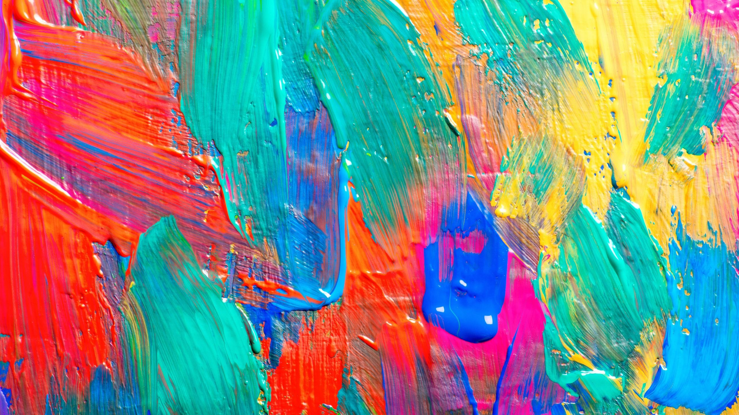 Download Wallpaper Paint Acrylic Colors Texture Paint