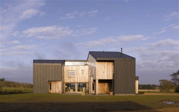 Buy a modern home in the country beach houses 2 and for Modern zinc houses