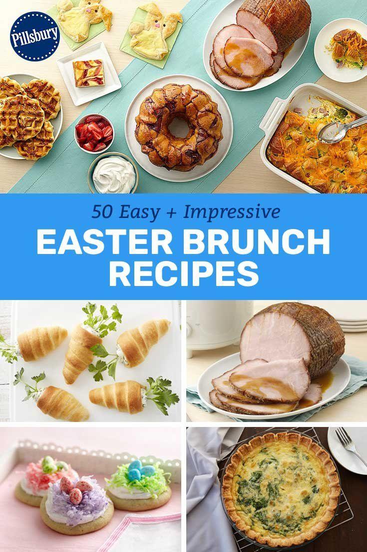 Photo of 50 Easy + Impressive Easter Brunch Recipes