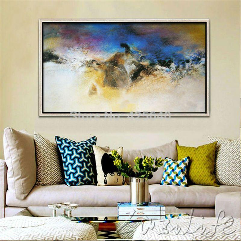 comprar lona pintados a mano pinturas al On comprar cuadros grandes dimensiones