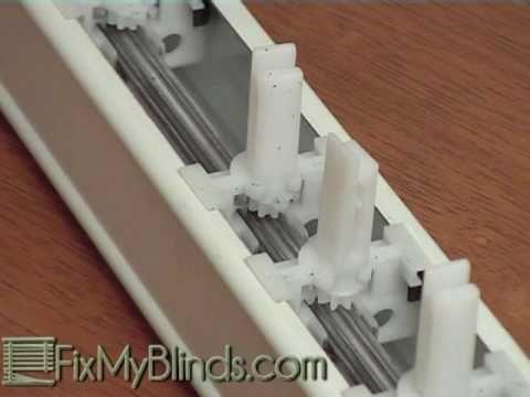Easy Vertical Blind Stem And Gear Replace And Repair Diy