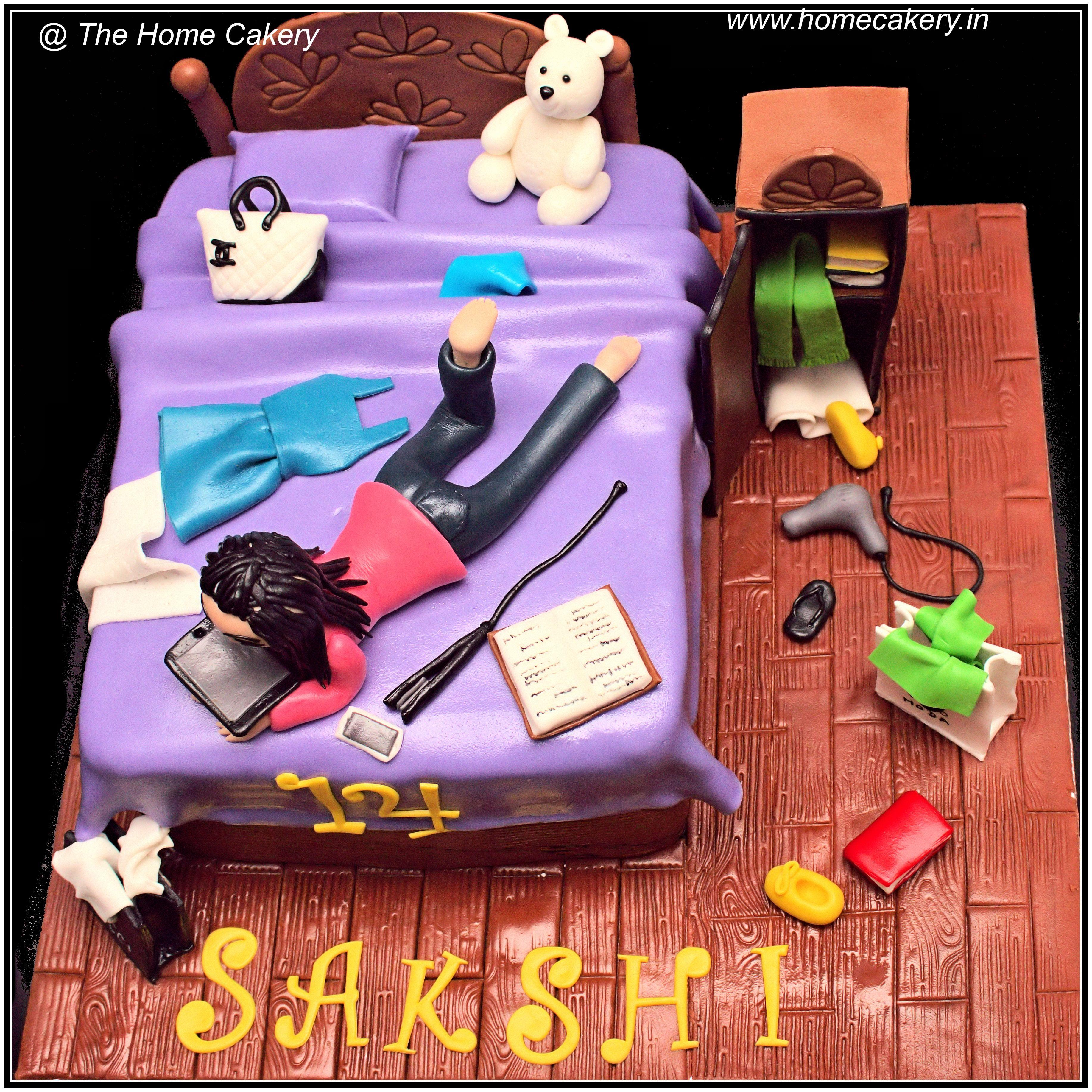 Messy Bed Cake Bed Cake Birthday Cake Kids 13 Birthday Cake
