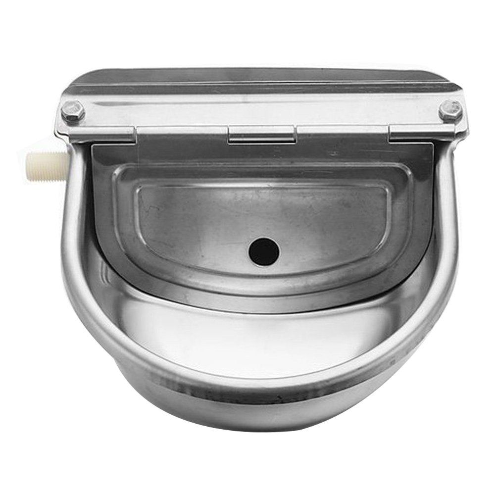 Automatic Water Trough Stainless Steel Bowl Auto For Dog Horse Sheep With Water Hose Details Can Be Horse Water Trough Water Trough Automatic Horse Waterer