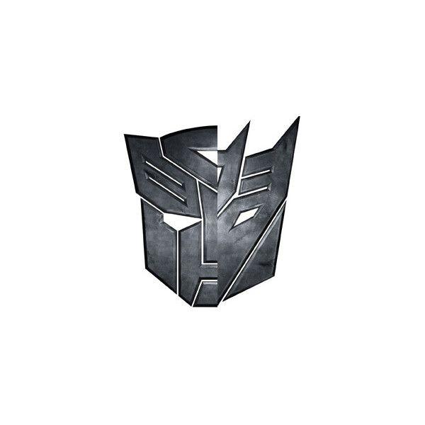 Pics For Half Autobot Half Decepticon Symbol Liked On Polyvore