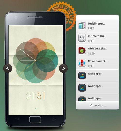 Customizing a Beautifully Minimal Android Screen