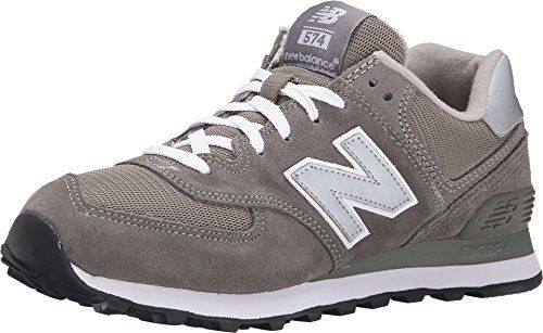 New Balance Men's ML574 Lifestyle Sneaker,Grey/Silver,11.5 D ...