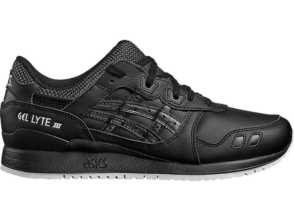 0165392d502 Asics Tiger GEL-LYTE III Baskets basses black pas cher prix Baskets Femme  Asics Tiger 115.00 € TTC.