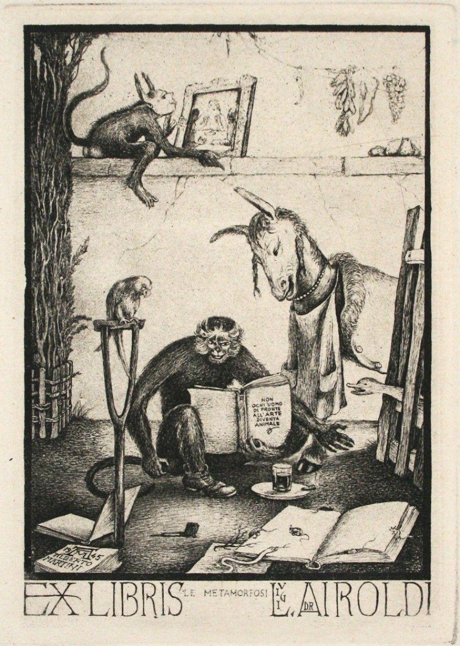 Le Metamorfosi Ex Libris For Dr