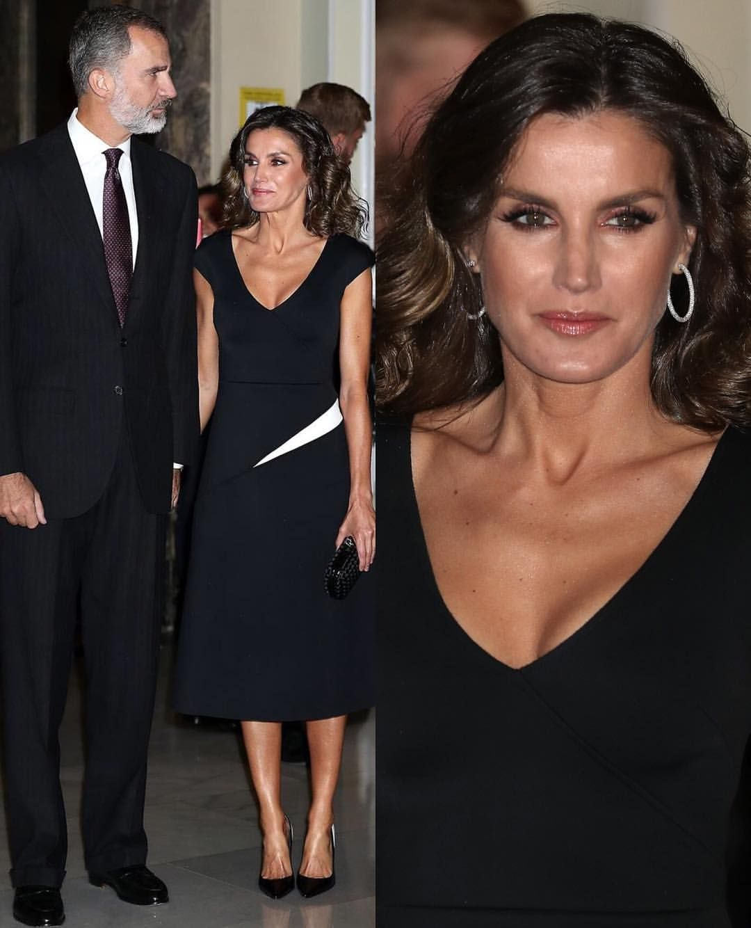 Winner Fashion Journalist Of The Year: #New King Felipe And Queen Letizia Of Spain Attended The