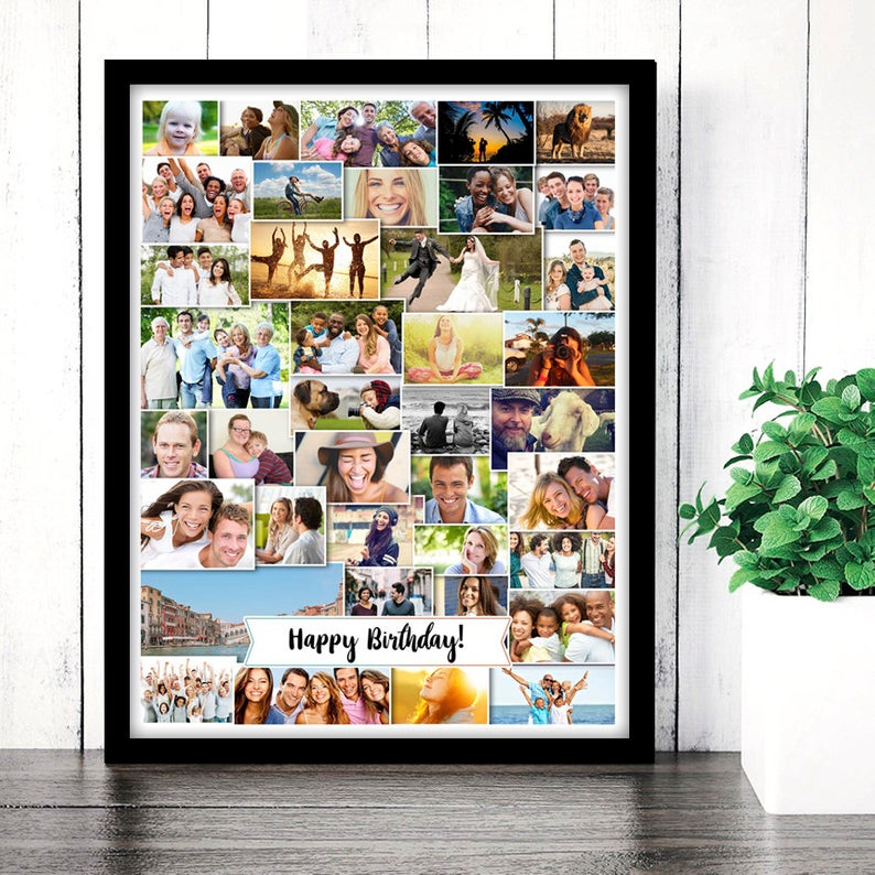 photo collage custom collage poster