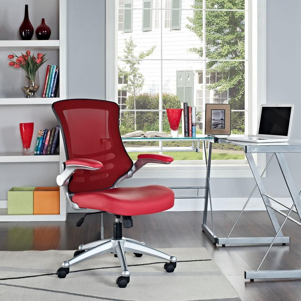 Home Depot Office Chairs Desk Chair Home Depot Modway Attainment Office Chair In Redeei210red The Home Depo Eames Office Chair Office Chair Office Chair Design