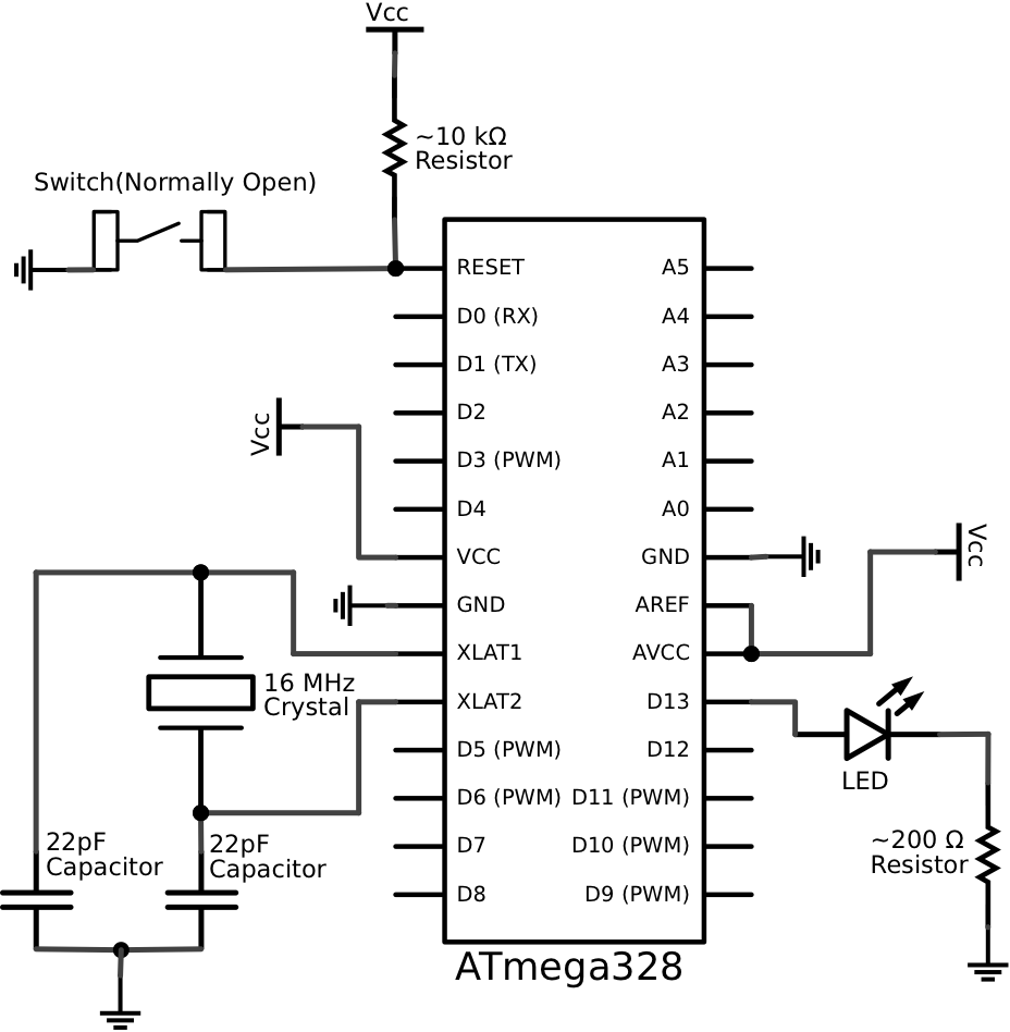 schematic for arduino uno - google search