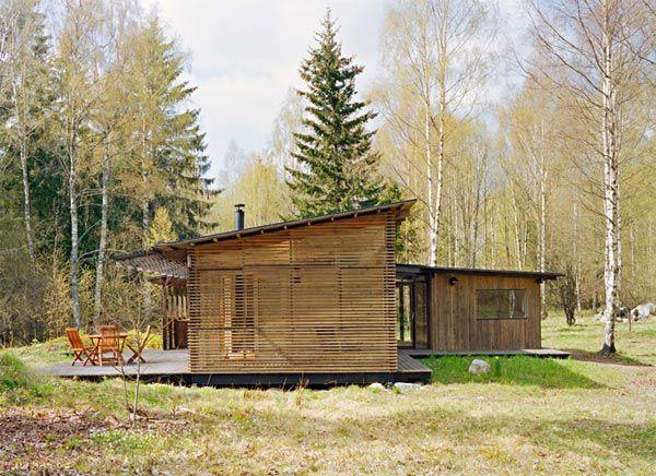Summer Cabin Design Awardwinning Wood House by WRB Summer
