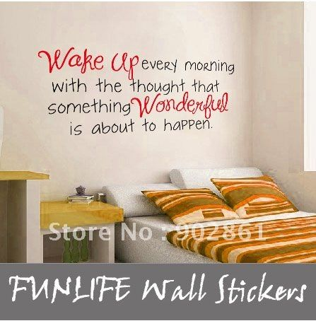 Wall Decal Quotes For Bedroom