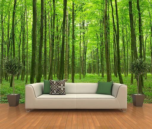 forest decorating mural home decor murals pinterest. Black Bedroom Furniture Sets. Home Design Ideas