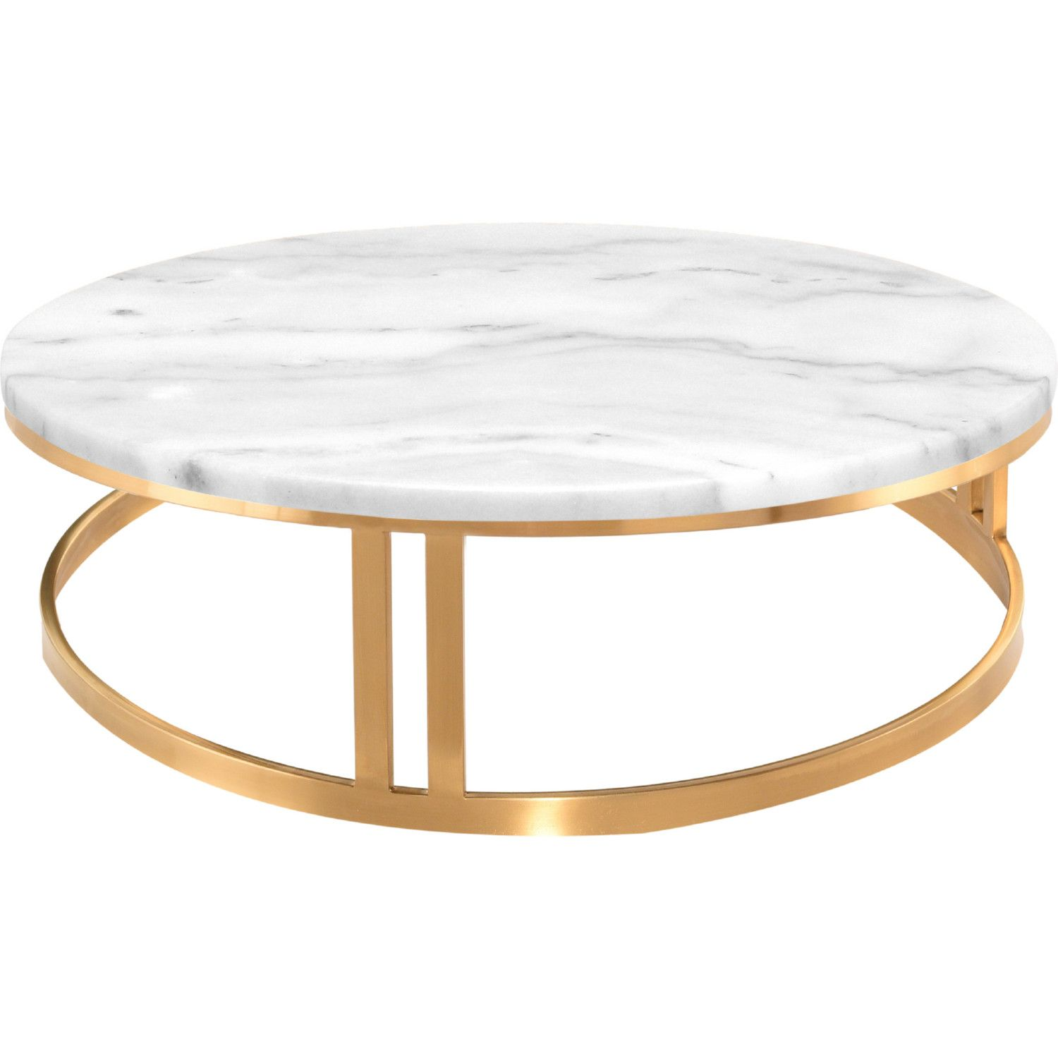 Nuevo Modern Furniture Hgna420 Nicola Coffee Table White Marble On Brushed Gold In 2021 Coffee Table White Steel Table Base Gold Coffee Table [ 1500 x 1500 Pixel ]