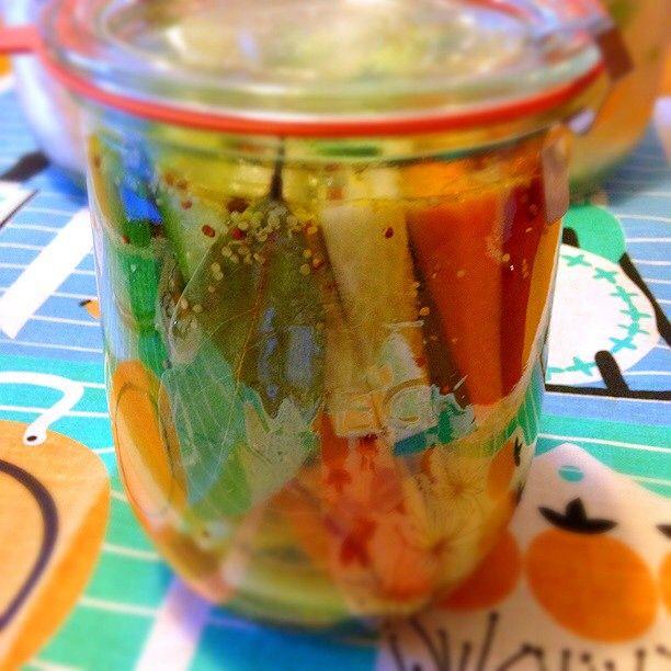 Sam's pickles by samanthachop