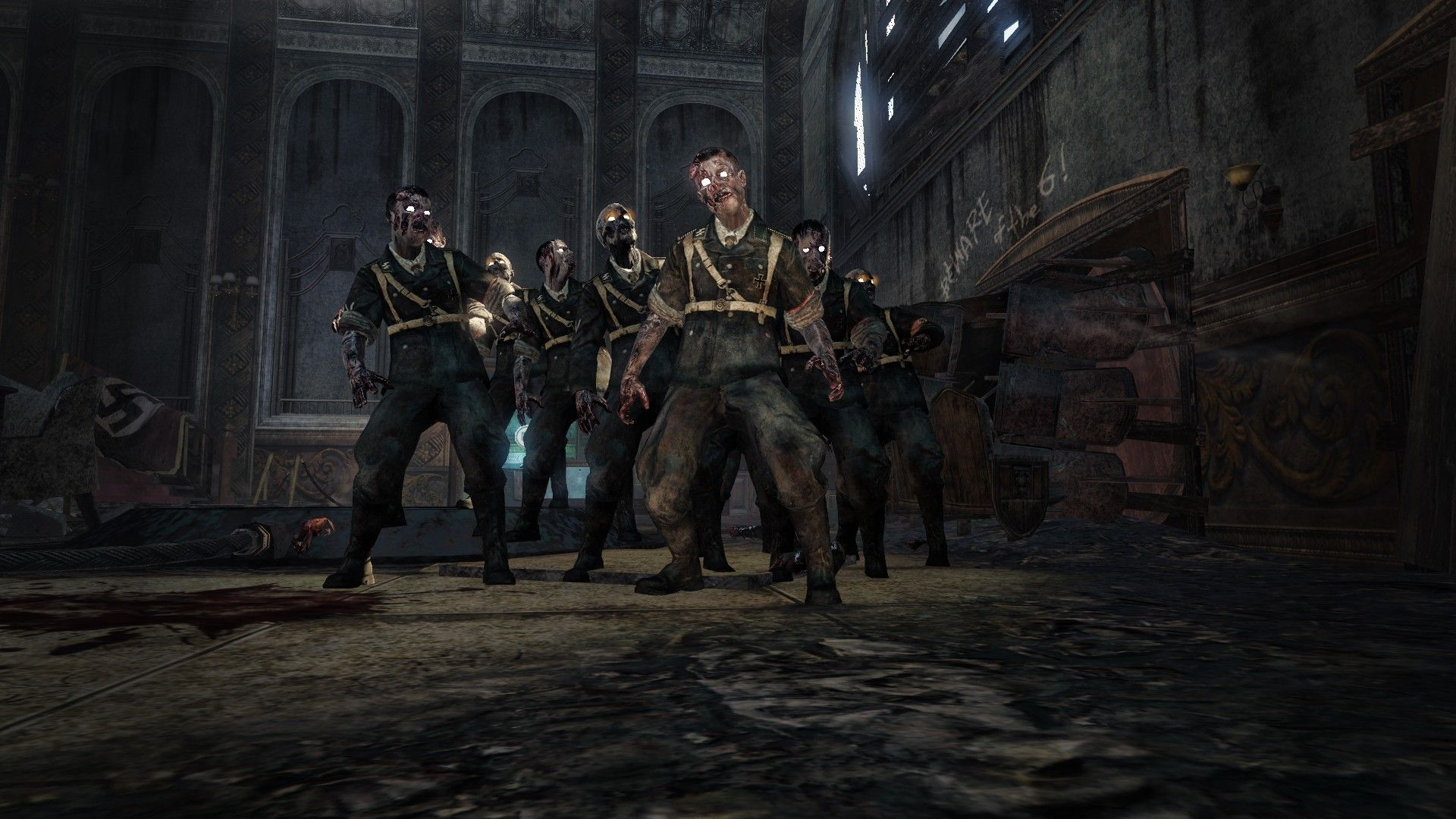 Video Games Zombies Call Of Duty Black Ops Wallpaper