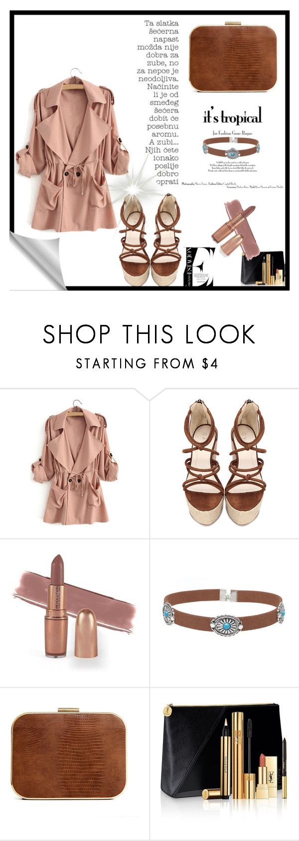"""Untitled #116"" by melly-di ❤ liked on Polyvore featuring Yves Saint Laurent"