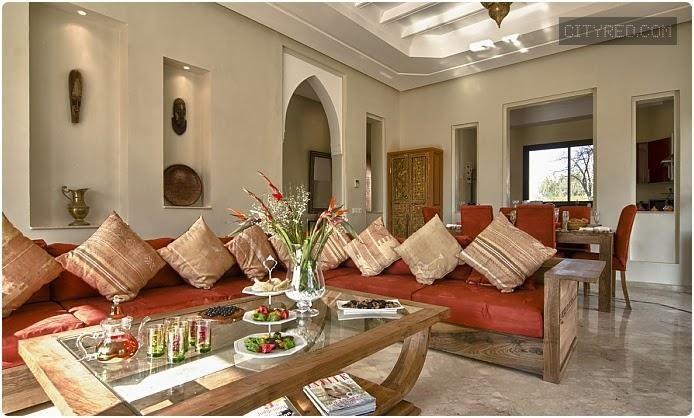 interieur maison marocain moderne