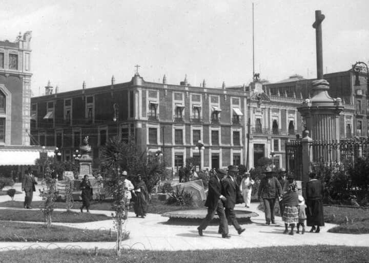 El Zócalo en 1920