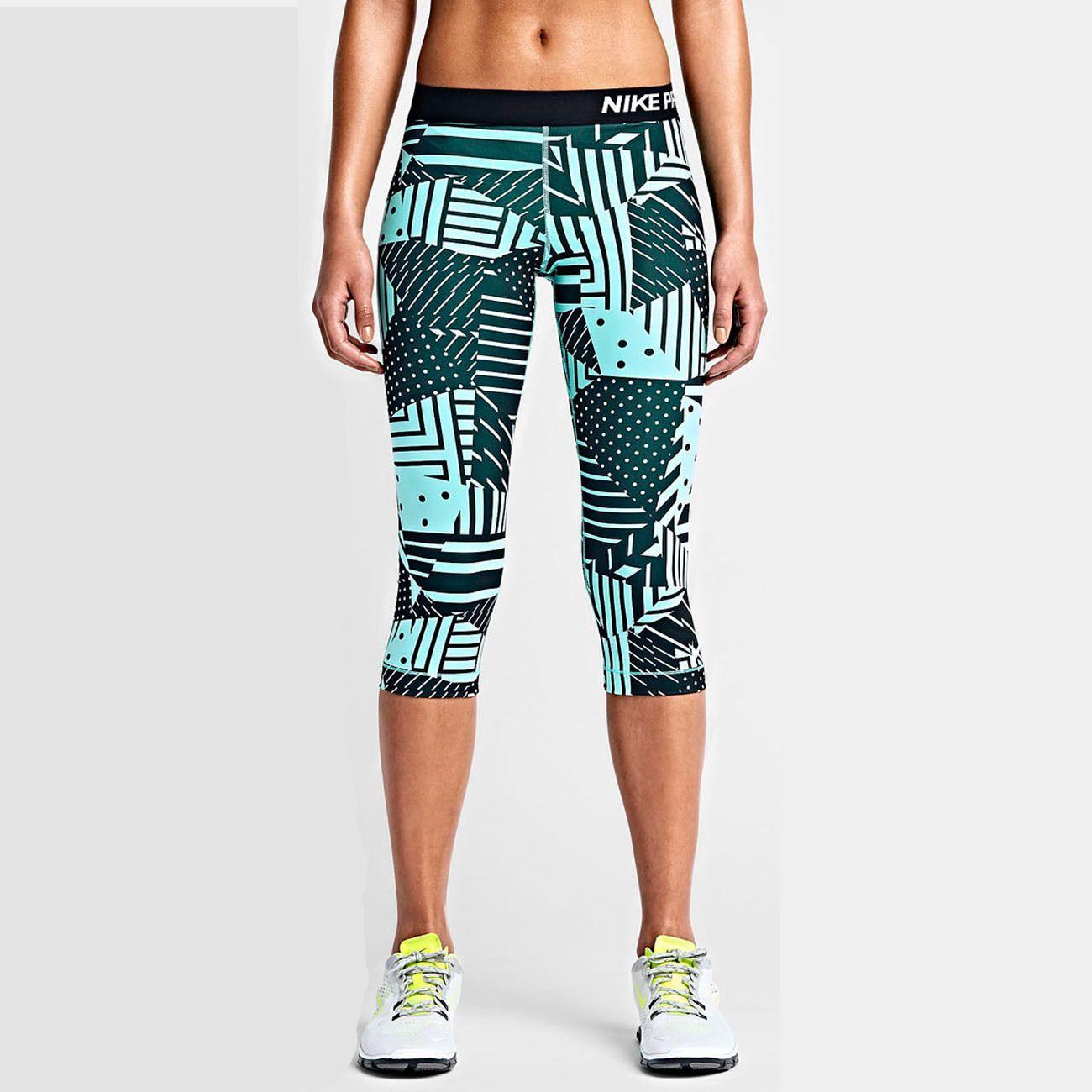 Nike Fit Pro Patchwork Tights Women's Latest Performance Capri Dri XnrHOqXR