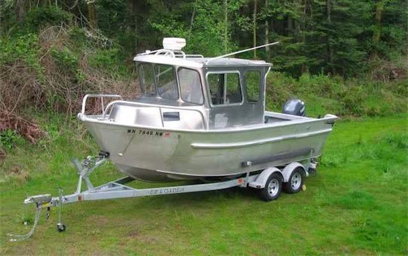 Aluminum boats yachts for Aluminum boat with cabin for sale