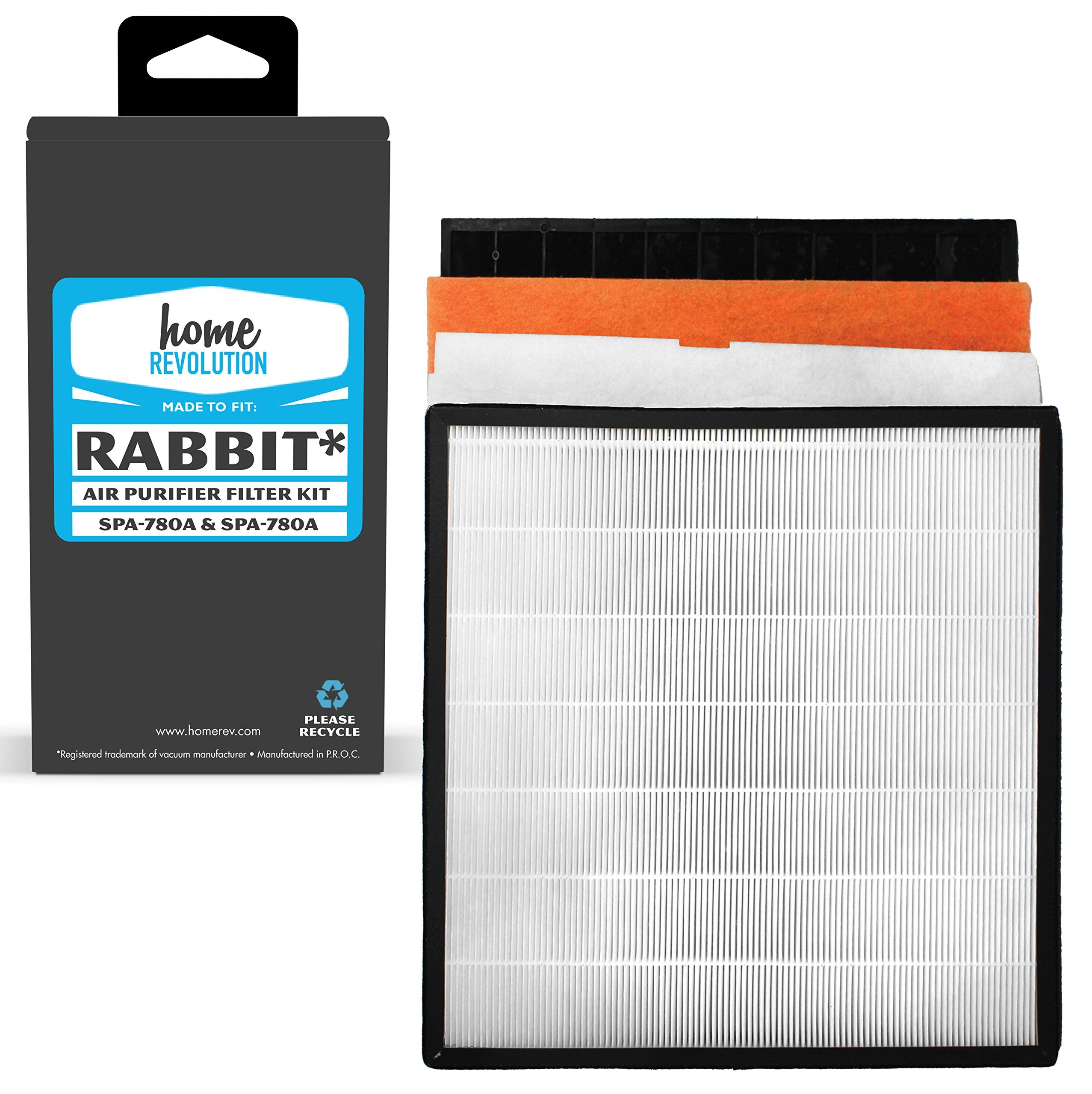 Home Revolution 1 Replacement Filter Kit Fits Rabbit Air