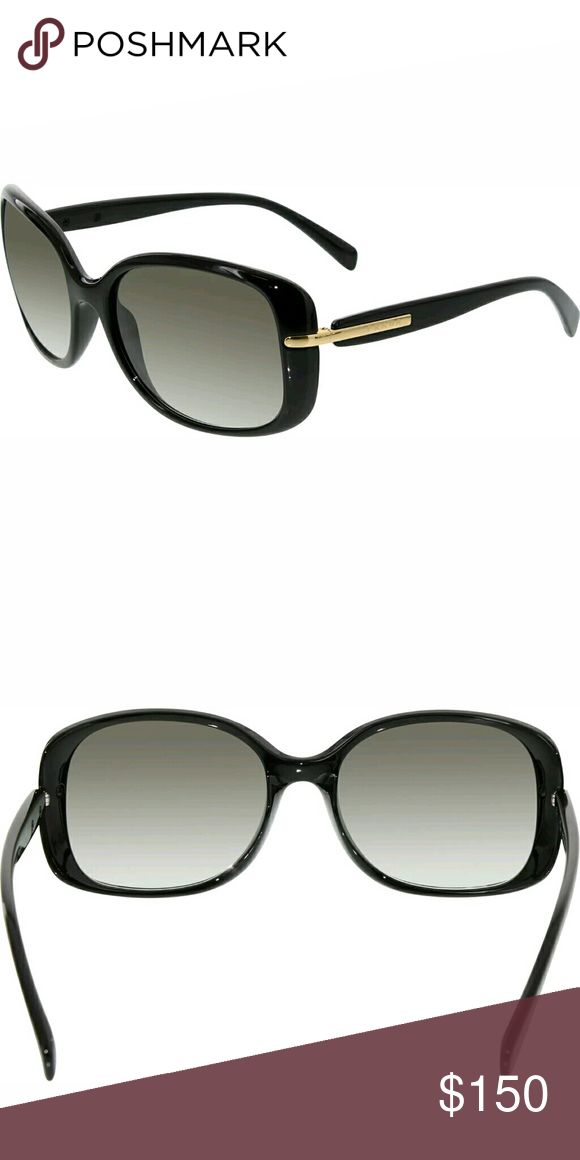 63745c8413fb0 Prada sunglasses ❤CLEARANCE❤ PRADA SPR 08O 1AB-0A7 Stylish Sunglasses Black  Gold Grey Gradient ITALY Y5 53 🌟🌟🌟🌟🌟 Perfect condition Prada Jewelry