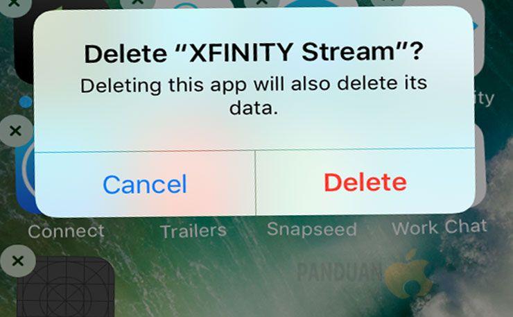 Cara menghapus aplikasi yang tidak bisa dihapus di iPhone