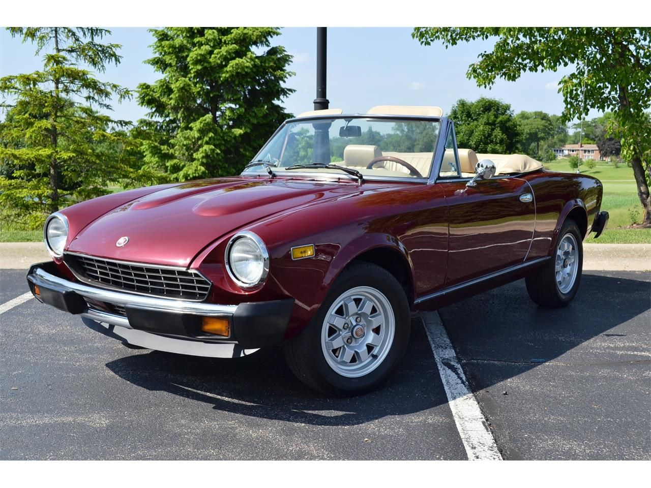 New Car Old Car 1980 Fiat Spider Fiat Spider Fiat Roadsters