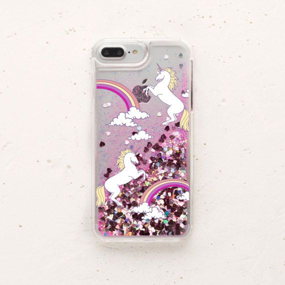 Glitter Unicorn Phone case iPhone 7