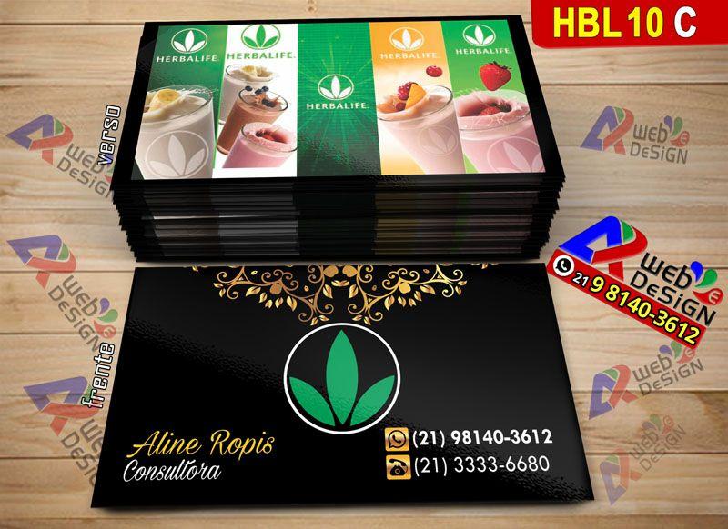 1000 Cartoes Visita Barato Herbalife Com Imagens Cartao De