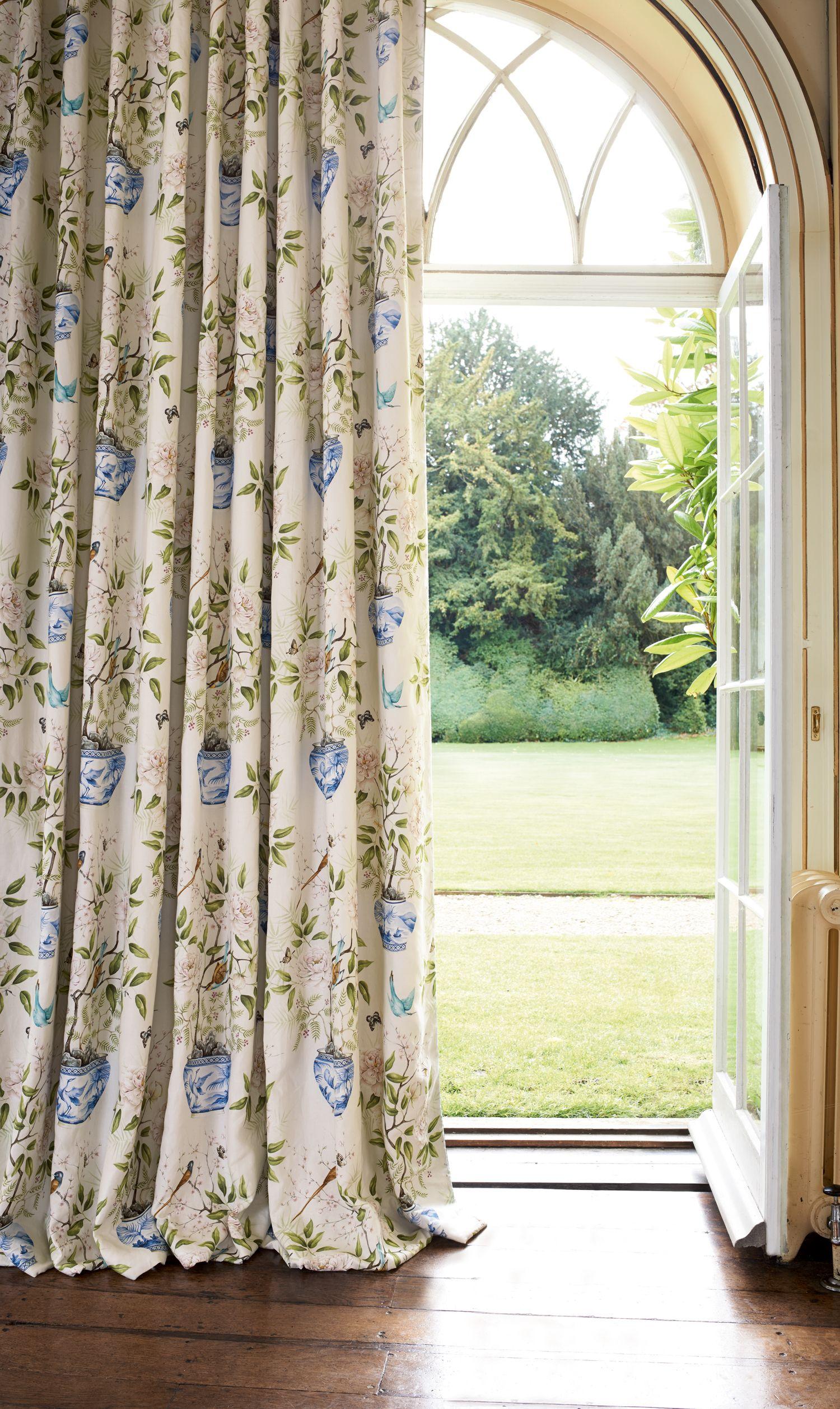 Curtains Romey's Garden 321442 Curtains, Curtains with
