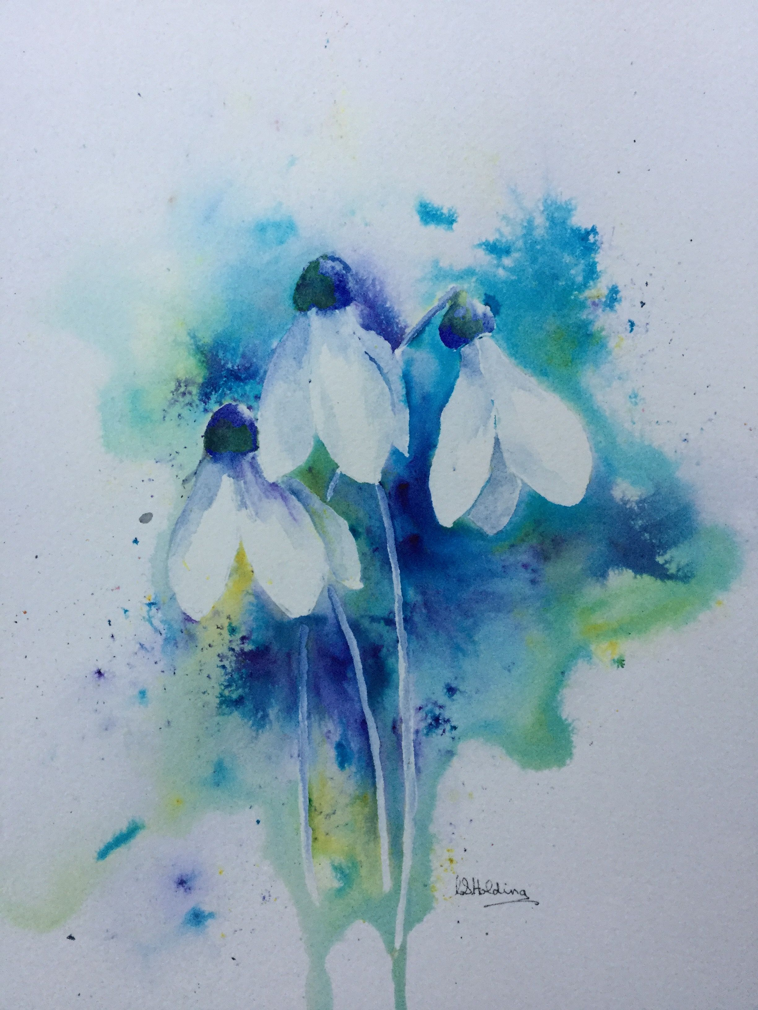 Snowdrops Painting Painting Projects Art