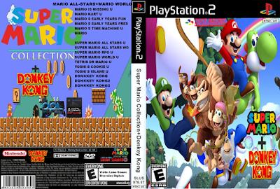 Revivendo A Nostalgia Do Ps2 Super Mario Collection Donkey Kong Via Opl Ps2 0 9 Donkey Kong Jogos Ps2 Crash Team Racing