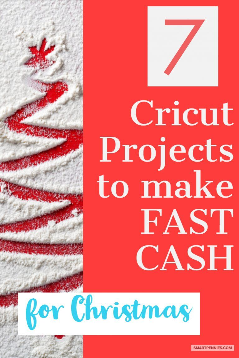 Cricut Projects to make & sell this Christmas (Fast money