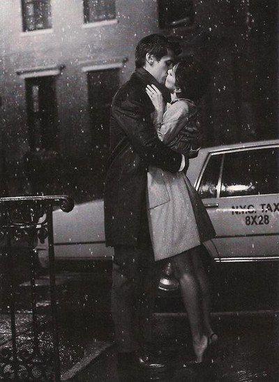 Kiss Goodbye In The Rain Purplebunnycloset Kissing In The Rain